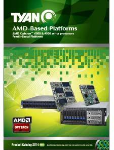 New 2014 TYAN Catalog -  AMD Based Platforms