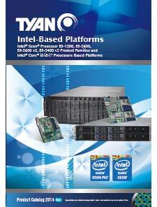 New 2014 TYAN Catalog -  Intel Based Platforms