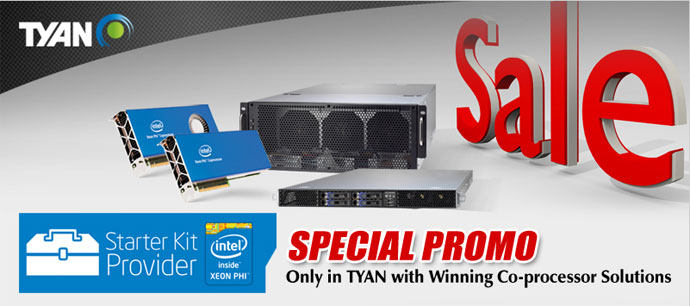 TYAN Coprocessor Solutions