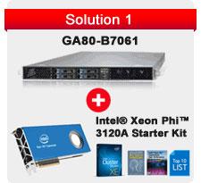 Intel Xeon Phi 3120A Starter Kit + TYAN GA80-B7061