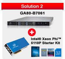 Intel Xeon Phi 5110P Starter Kit + TYAN GA80-B7061