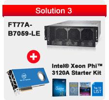 Intel Xeon Phi 3120A Starter Kit + TYAN FT77A-B7059-LE